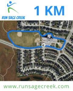 1 km Course